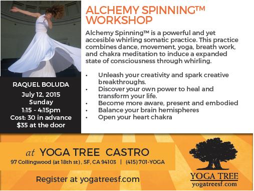 Taller de Alchemy Spinning en Yoga Tree@Castro, San Francisco
