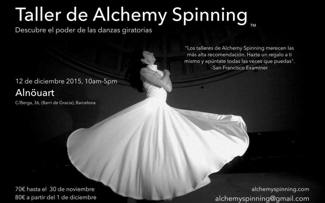 Alchemy Spinning Workshop at Alnöuart