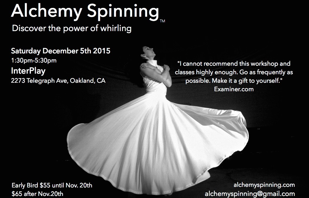Alchemy Spinning Workshop at InterPlay