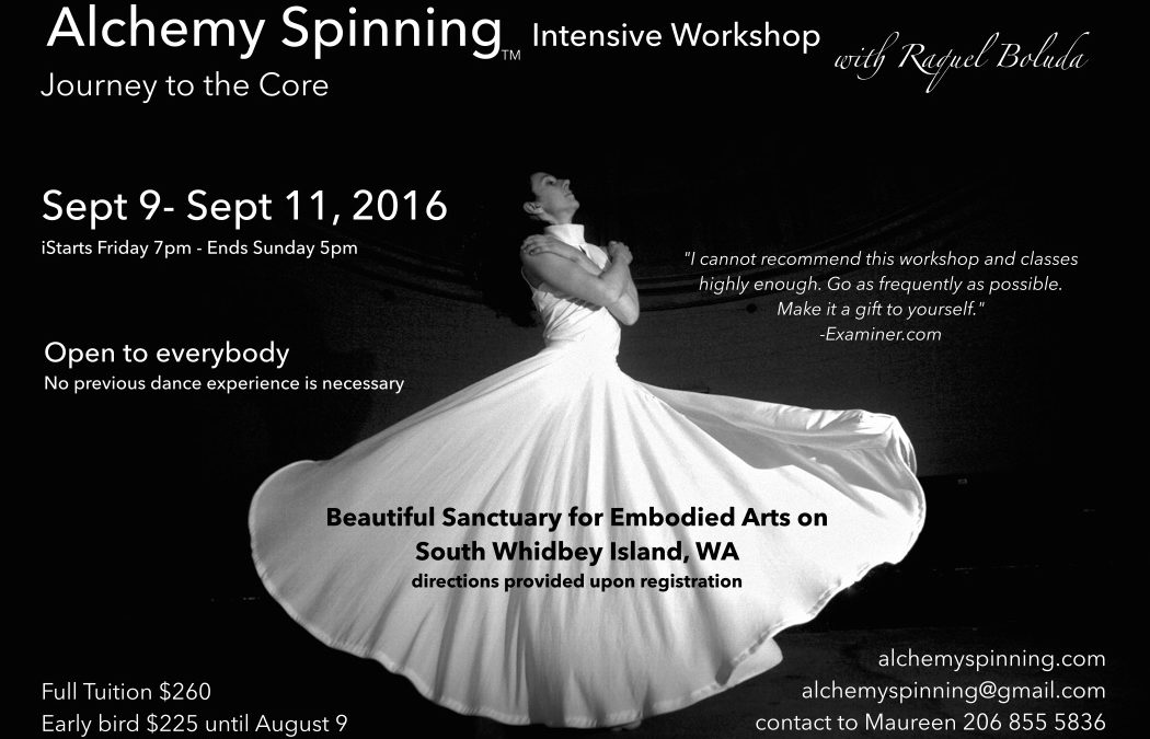 Journey to the Core, Alchemy Spinning Workshop at Butopia