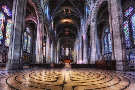 Alchemy Spinning Workshop at Grace Cathedral