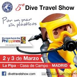 Danza por Un mar sin plásticos en el Dive Travel Show