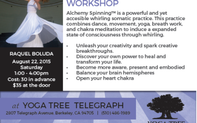 Taller de Alchemy Spinning en Yoga Tree, Berkeley