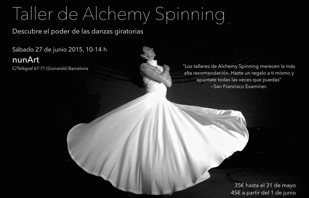 Taller de Alchemy Spinning en NunArt, Barcelona